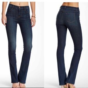 J Brand High Waisted Slim Bootcut Jean